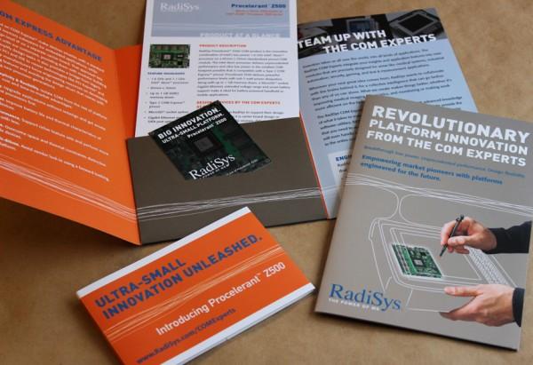 Radisys Brochure & Sales Kit Design